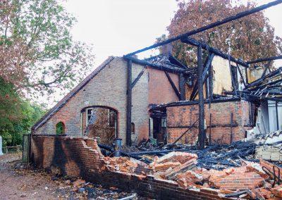 Herbouw woonboerderij te Delfzijl na brand